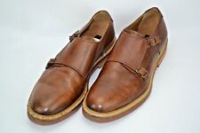 To Boot New York Adam Derrick Double Monk Strap Leather Loafer Shoes Men's 8.5 M