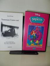 VHS - LA SIRENETTA, ARIEL E L'IPPOCAMPO GIGANTE - DISNEY - ALL TOMMASO L'OMUCANI