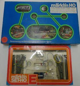 VTG 1978 MARKLIN 2947 TRAIN SET & 5191 TRACKS ho scale