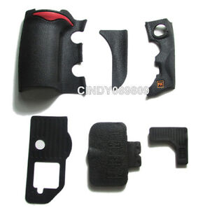 A Unit of 6 Pieces for Nikon D700 Grip Rubber Unit USB Rubber With Adhesive Tape