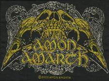 "Amon Amarth ""RAVEN SKULL"" Patch/ricamate 601453 #"