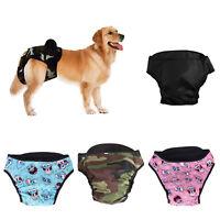 Hund Hose Schutzhose Läufigkeitshose Hygienehosen Waschbar Windel Hundewindel
