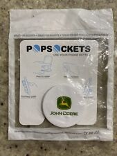 PopSockets Phone Holder - White - John Deere