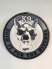 K9 Skull BITCHES Police Military Law Enforcement Dog Canine Paw Patrol PVC Patch