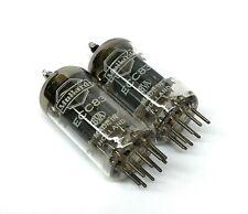 Matched Pair  ECC83 12AX7   NOS Mullard  Holland  Valve Tubes (VTE7)