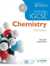Cambridge IGCSE Chemistry 3rd Edition plus CD (Paperback), Earl, ...