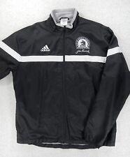 Boston Marathon 2000 Reflective Running Jacket (Adult XL) Black/Silver