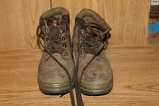 Timberland Boys Hiking Boots Size 6.5 Brown Leather