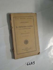 Aristotele IL PRINCIPIO LOGICO (64B5)