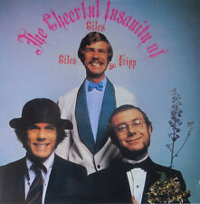 GILES, GILES & FRIPP the cheerful instanity of giles, giles &. LP NEU OVP/Sealed