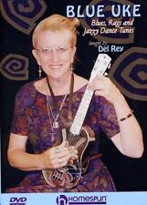 Blue Uke-Blues, Rags and Jazzy Dance Tunes (DVD, 2007)