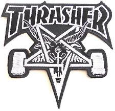 THRASHER SKATEGOAT PATCH BLACK, DRESS UP YO RAGGEDY ASS!