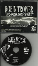 Procol Harum ROBIN TROWER Run With The Wolves PROMO CD