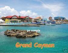 GRAND CAYMAN ISLAND - Travel Souvenir Flexible Fridge Magnet
