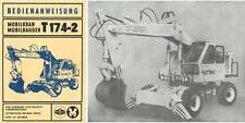 Bedienung Mobilkran Mobilbagger Weimar Werk T 174-2 174 2 IFA DDR VEB