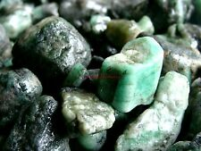 UNSEARCHED NATURAL EMERALD - 2000 CARAT Lots - Gemstone Rough Plus Free Gifts