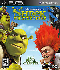 Shrek Forever After: The Final Chapter (Sony PlayStation 3, 2010)  COMPLETE  PS3
