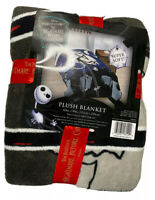 The Nightmare Before Christmas Plush Blanket 60in X 90in 100% Polyester