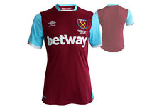 Umbro West Ham United Home Jersey Fußball Trikot Hammers rot Gr.S Premier League
