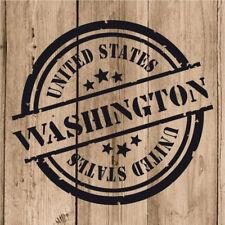 Vinilo de Corte Washington Pegatina Washington USA United States 10 cm Adhesivo