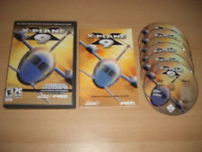 X-PLANE 9 Pc DVD Rom XPLANE Flight Simulator Sim - FAST POST