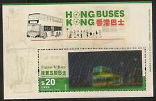 Hong Kong Buses HKD $20 stamp sheetlet (Lenticular Printing Effect) MNH 2013