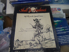 SKULL & CROSSBONES by Fantasy Games Unlimited role play the Spanish Main Pirate!