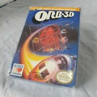 ORB 3D - Nintendo NES Game, Glasses, Box, Manual & Collectors Cover CIB Complete