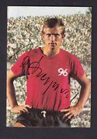 Jupp Heynckes .. Hannover 96 .. Signiertes Bergmann   Sammelbild
