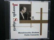 Szigeti: Mendelssohn + Brahms - Violin Concertos (Opus kura)