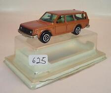 Majorette 1/60 Nº 220 Volvo 245 DL Combi marron metallic neuf dans sa boîte #625