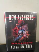 New Avengers - Breakout - Adapted Novel Marvel Comics HC Hard Cover New Sealed~
