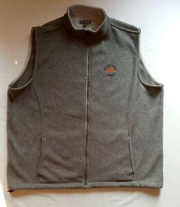 PETER MILLAR Ocean Course Kiawah Full Zip Golf Vest Size XXL