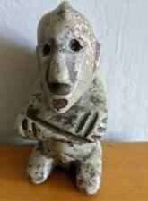 Vintage Soapstone Carving Figu 00006000 re Figurine Primitive Style
