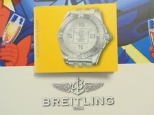 BREITLING PILOT DIVER WATCH INSTRUCTION MANUAL BOOK GUIDE BOOKLET COCKPIT LADY 2