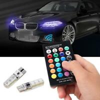 T10 5050 Remote Control Car Led Bulb 6SMD Multicolor W5w 501 Side Light Bulbs GA