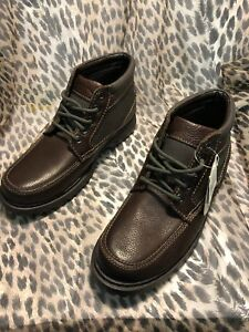Men's Thom Mcan US Size 7M #20447 Brown Leather and Man Made (Nielsen)