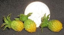 Pineapples 1:12 Food Garden Farm Market Miniature Crate Fruits #7597 Miniatures