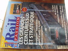 µ? Revue Rail Passion n°28 Loco Diesel USA Pard Diesel DBAG  RTG 1822 des OBB