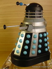 Doctor Dr Who Dalek PILOTO Platillo Figura LOOSE NUEVO NEGRO PLATA