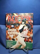 Boston Red Sox 2002 Official Magazine 90th Anniversary Illustrated