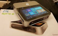 "ZTE Spro 2 Android HD LED Projector WiFi+4G 5"" touchscreen rechargeable hotspot"