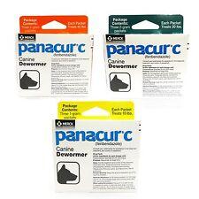 Panacur C Canine cachorros perro ascáridos anquilostoma tenia Tricúrido tratamiento