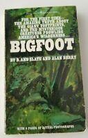 """BIGFOOT Slate & Berry Bantam Paperback 1975 """"Actual Photos"""""""