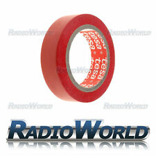 10m x15mm TesaFlex®  Heavy Duty Electrical PVC Insulation Tape Cable Roll Red