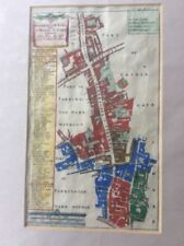 Copper Plate 1700-1799 Date Range Antique Folding Maps