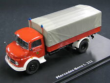 "Schuco Mercedes-Benz L322 1:43 ""Feuerwehr"" (JS)"