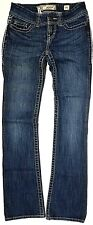 * BKE Thick Stitch ADDISON Embellished BOOTCUT Stretch JEANS - SIZE 25 L x 31 ""