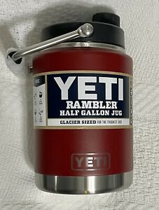Yeti Half Gallon Brick Red Jug - SUPER RARE!