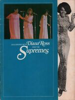 DIANA ROSS AND THE SUPREMES 1968 REFLECTIONS TOUR CONCERT PROGRAM BOOK / VG 2 EX
